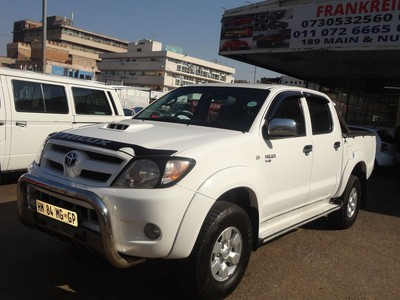 Used Toyota Hilux 3 0 D4d Double Cab Bakkie For Sale In
