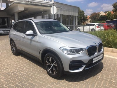 Used Bmw X3 Xdrive 20d A T G01 For Sale In Gauteng