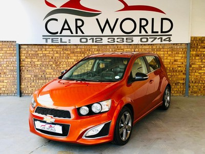 Used Chevrolet Sonic 1 4t Rs 5 Door For Sale In Gauteng Cars Co Za Id 5227001