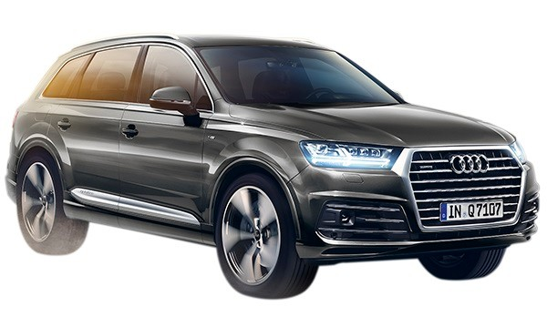New Audi Q7  Stay driven with R120 000 worth of free options