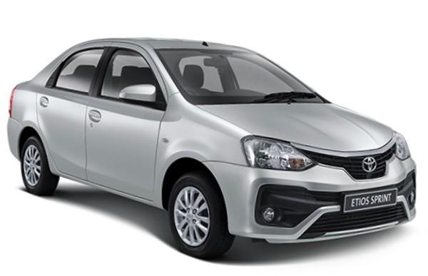 New Toyota Etios Sprint Sedan with R10 000 Cash Back