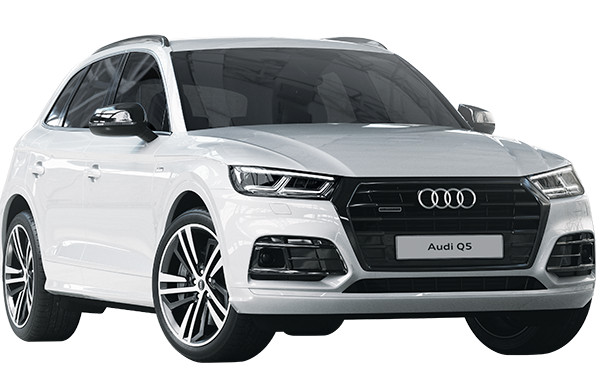 Drive the Audi Q5 from R9 599pm with a free Black Edition Package.