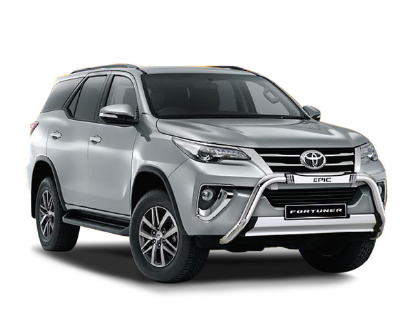 Drive away in the ALL NEW Toyota Fortuner 2.8 RB Epic and SAVE R86 000