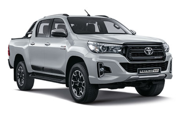 SAVE R80 000 with the NEW Hilux DC 2.8 RB 4X4 LEGEND 50 6AT
