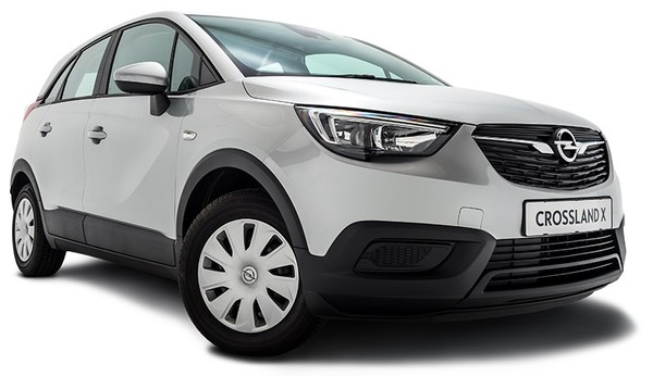 Get the Opel Crossland X 1.2 From as little as R3 200PM