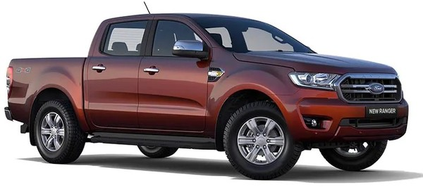 NEW Ford Ranger DC 2.0 XLT 132KW From R7399 PM with ZERO DEPOSIT