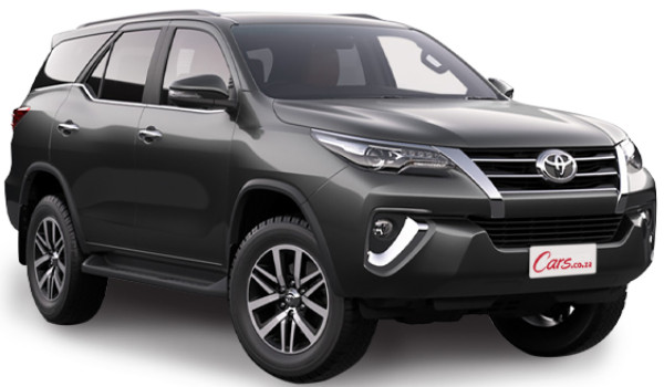 Buy the New Toyota Fortuner from only R9 368 pm