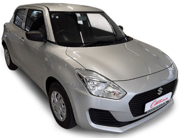 Get a NEW Suzuki Swift GA from R171900. Get up to R10 000 Cash Back