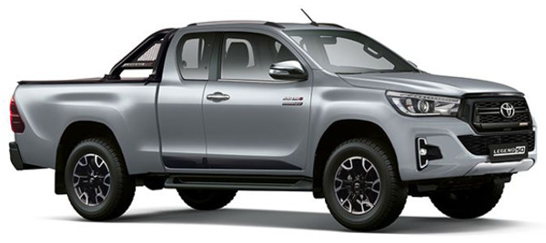 All NEW Toyota Hilux Xtra Cab 2.8 GD6 4X4 L50 From R8920pm 0 Deposit