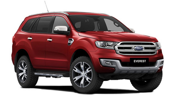 Get Unstoppable Value in a Ford EVEREST LIMITED 4x4 AT from R8 699pm