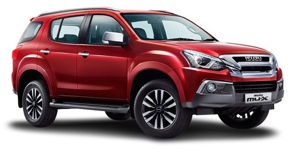 New Isuzu MUX 3.0 4x4 AT for Only R7 599 PM