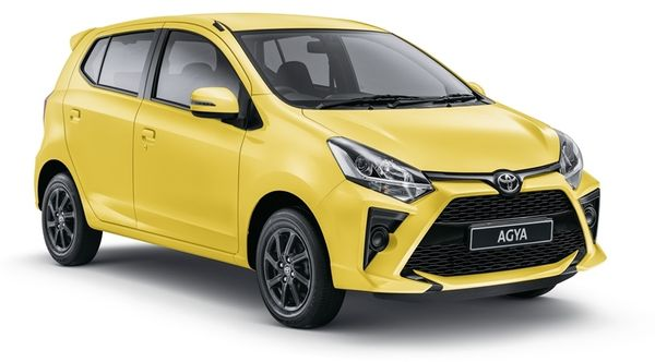 New Toyota Agya manual from R1 999 pm