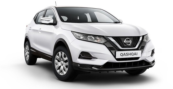 New Nissan Qashqai from only R3 930 pm