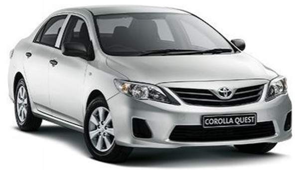 Get the Toyota Corolla Quest 1.6 for R2950 PM over 48 Months