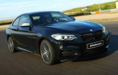 BMW M235i Track Edition Front View 618x453