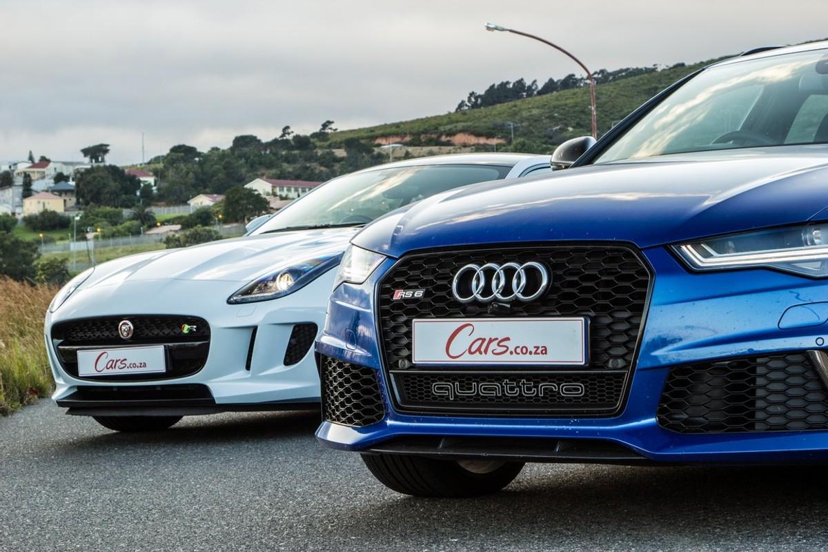 Audi RS Avant Vs Jaguar FType Coupe AWD R The Final Showdown - Types of audi cars