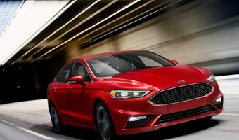 Ford Fusion V6 Sport 2017 1024x768 Wallpaper 01