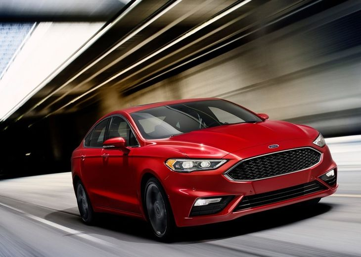 Ford Fusion V6 Sport 2017 1024x768 Wallpaper 01