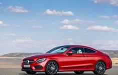 Mercedes Benz C Class Coupe 2017 1280x960 Wallpaper 02