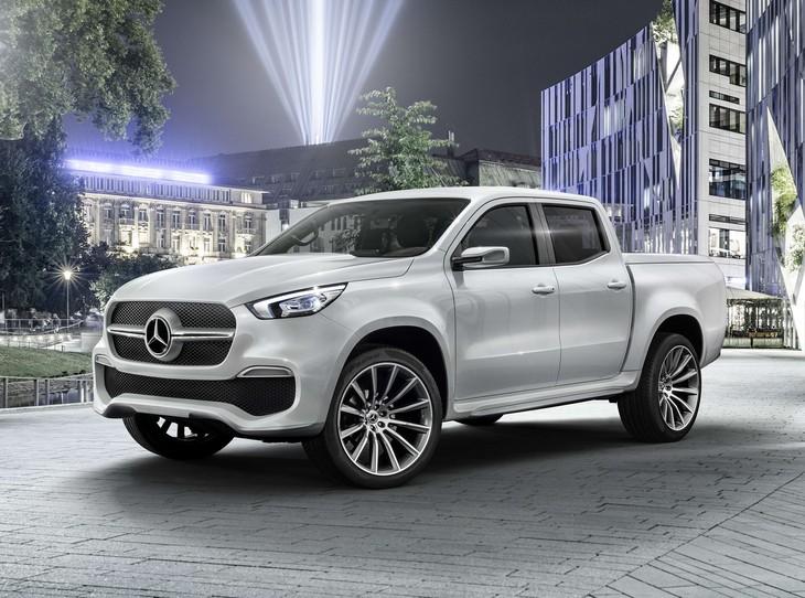 Mercedes-Benz X-Class Concept Finally Revealed (Updated)