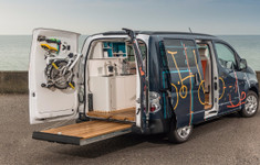 Nissan E Nv200 Workspace Conceptrear