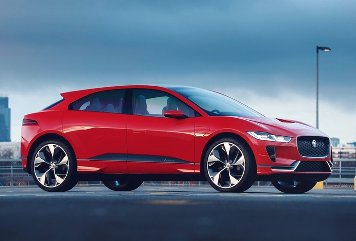 Jaguar I Pace Concept For Geneva Motor Show
