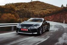 2016 Lexus LC500 DarkGray Dynamic 12