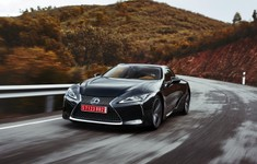 2016 Lexus LC500 DarkGray Dynamic 12