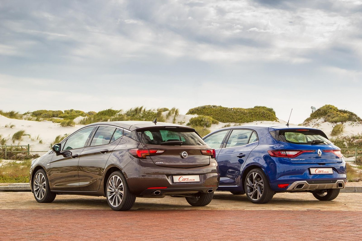 Comparative Review Opel Astra 1 6t Sport Vs Renault Megane Gt Turbo