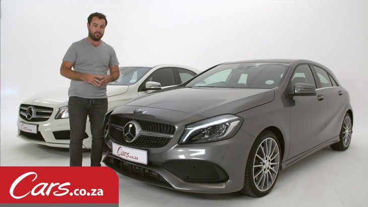 Mercedes Benz A Class Facelift New Vs Old Side By Side