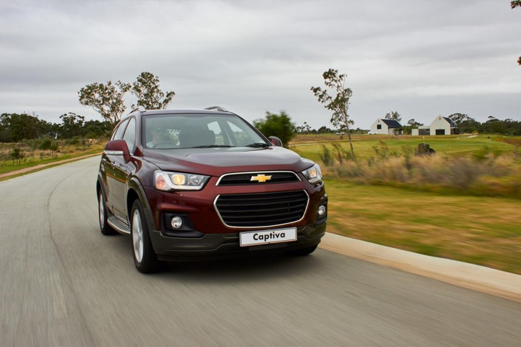 Chevrolet Captiva 2016 First Drive Cars