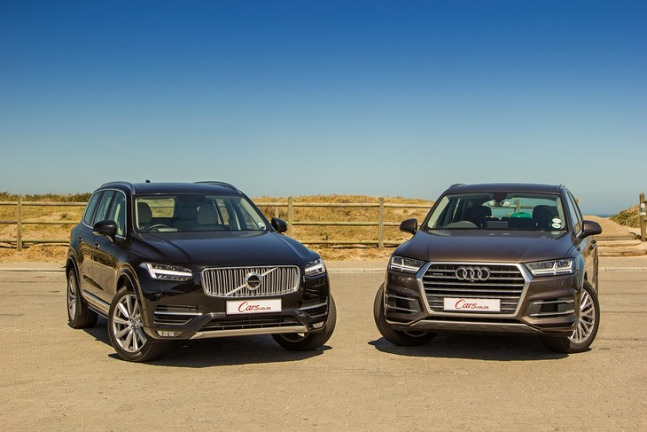 Audi Q TDI Quattro Vs Volvo XC D Inscription - Audi q7 reviews