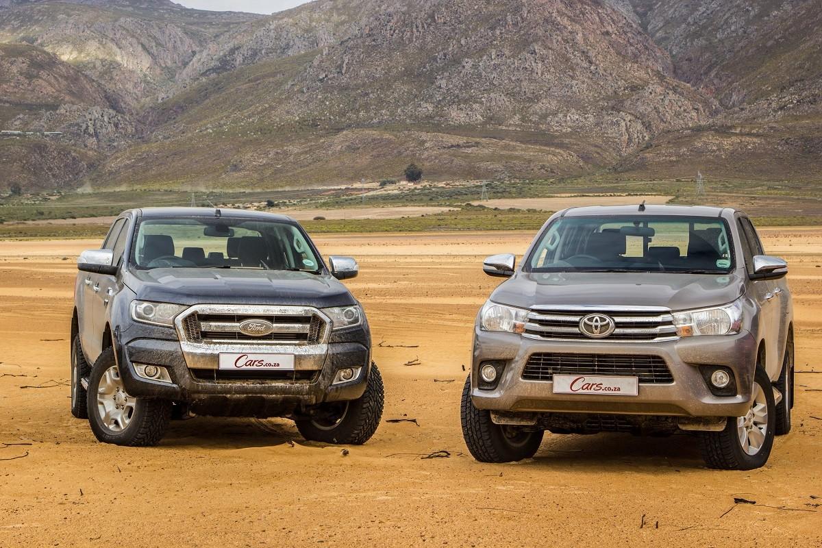 Toyota Hilux Vs Ford Ranger Vs Isuzu Kb Vs Volkswagen Amarok 2016