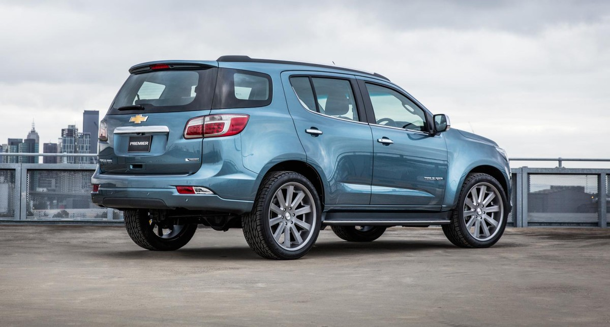 Facelifted Chevrolet Trailblazer In Sa Before 2017 Cars