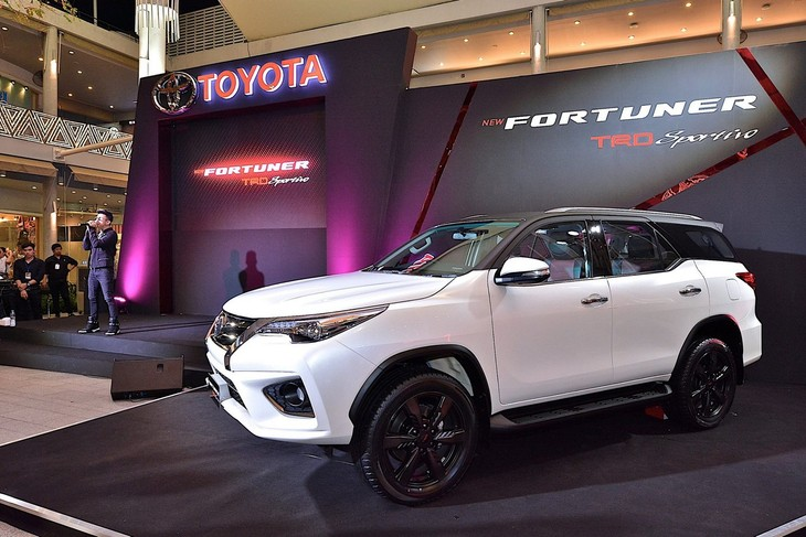 Toyota Fortuner Gets Trd Treatment Cars Co Za