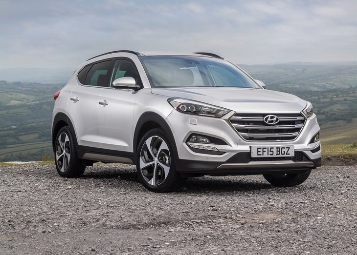 Hyundai tucson dimension