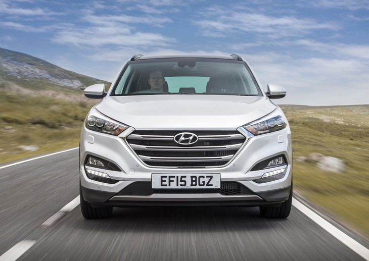 Hyundai Tucson EU Version 2016 1024x768 Wallpaper 9a