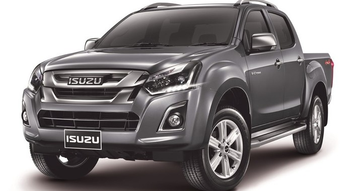 2016 Isuzu D Max Facelift Front Quarter Launched In Thailand