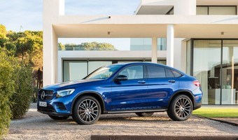 Mercedes Benz GLC Coupe 2017 1024x768 Wallpaper 06
