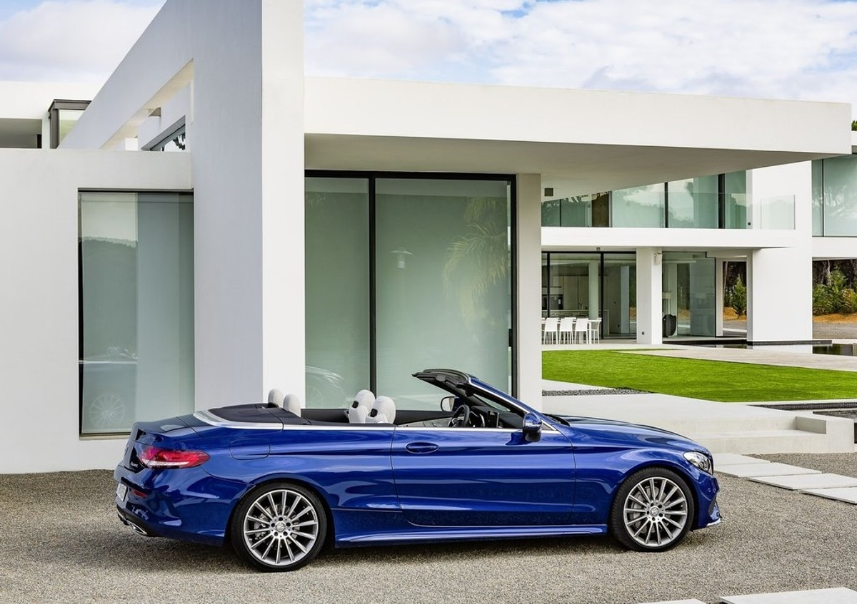 Mercedes Benz Goes Topless with C Class Cabriolet Pricing Update