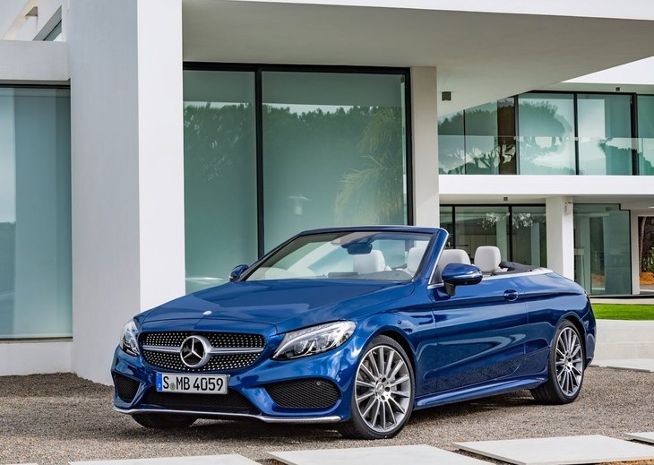 Cars That Start With C >> Mercedes Benz Goes Topless With C Class Cabriolet Pricing Update