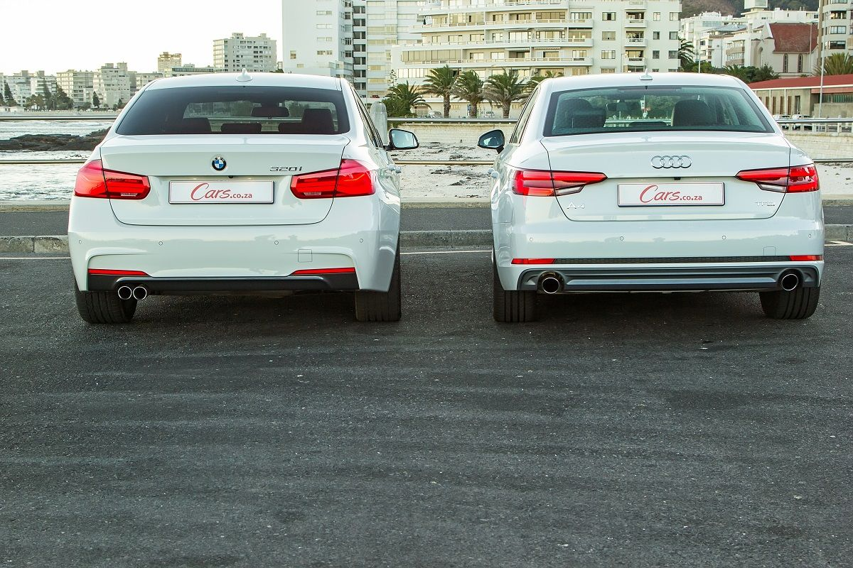 Audi A4 2 0t Vs Bmw 320i 2016 Comparative Review Cars Co Za