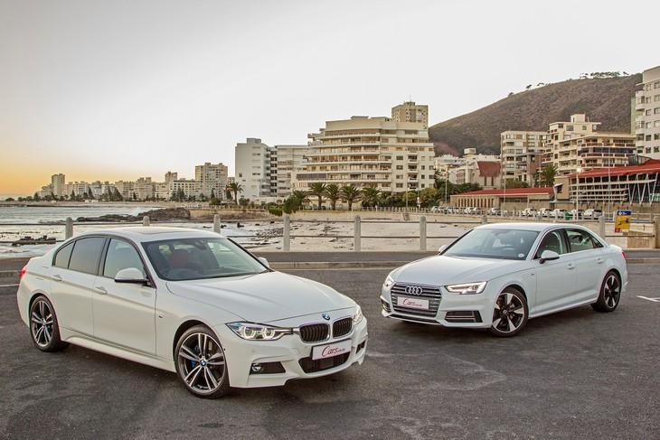 Audi A T Vs BMW I Comparative Review Carscoza - Bmw 328i vs audi a4