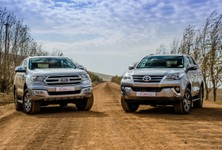 Toyota Fortuner vs Ford Everest (2016) Comparative Review