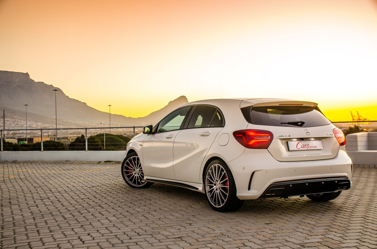 mercedes amg a45 4matic 2016 review. Black Bedroom Furniture Sets. Home Design Ideas