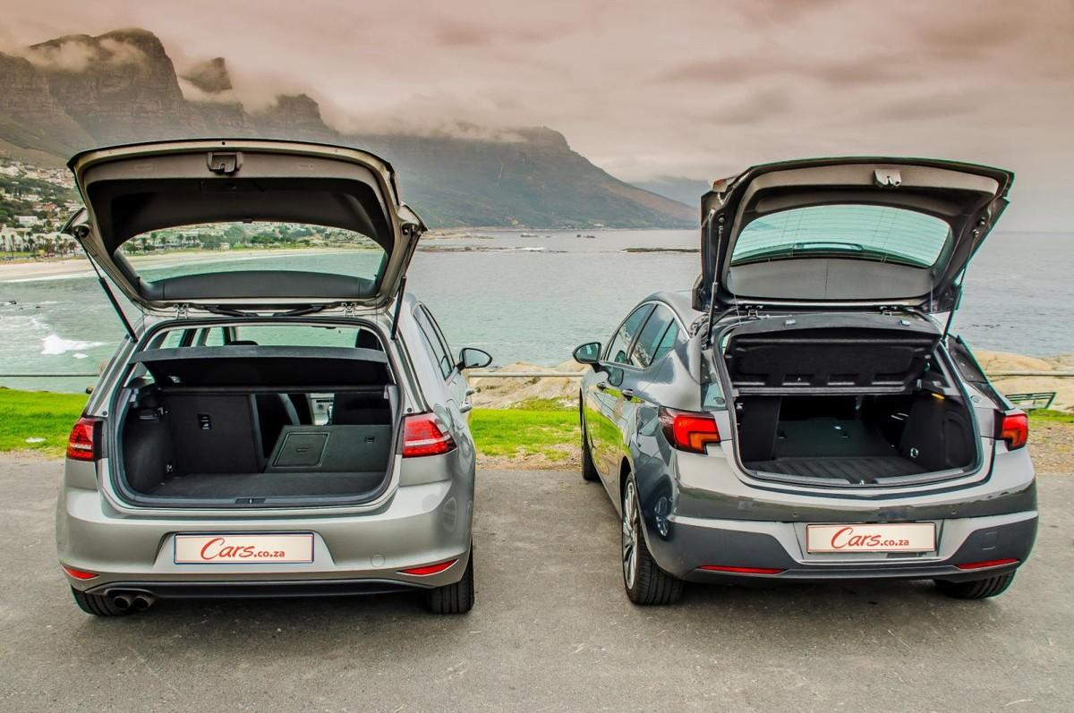 Comparative Review: Opel Astra vs Volkswagen Golf 7 - Cars co za