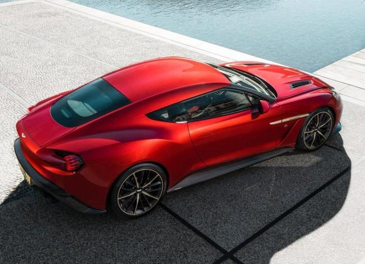 Aston Martin Vanquish Zagato Enters Production Carscoza - New aston martin zagato