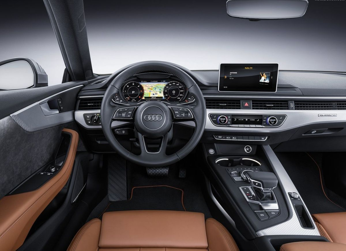Pictures of the new Audi A5 2017 model year hit the net 60