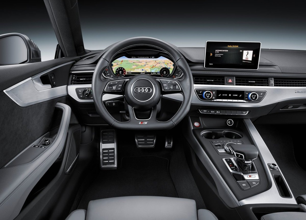 Pictures of the new Audi A5 2017 model year hit the net 4