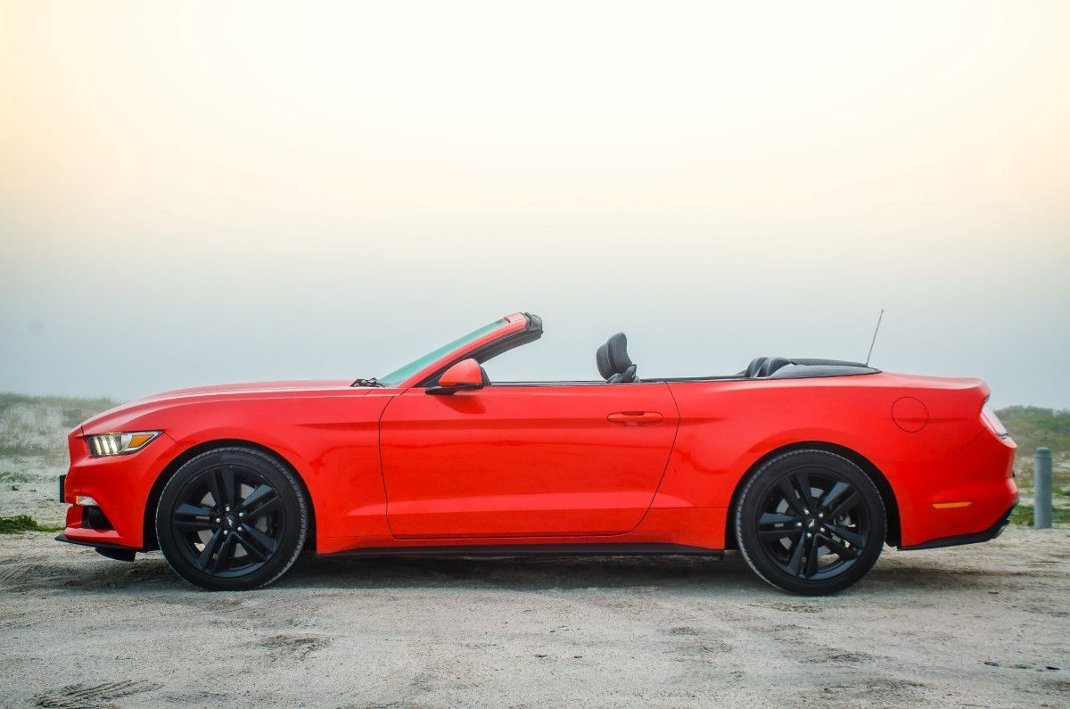 Ford Mustang 2 3 Ecoboost Convertible Automatic 2016